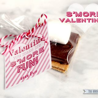 Valentine's Day S'mores {Free Printable Tags}