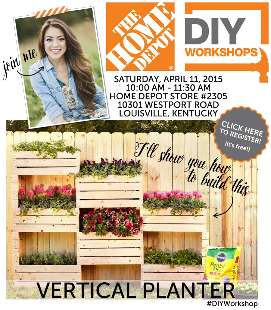 Home Depot DIY Workshop with Jen Woodhouse