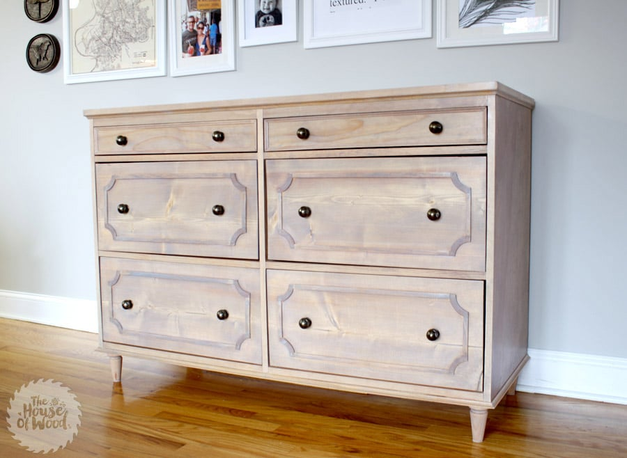 How to build a DIY Ballard Designs-inspired Dresser - free plans and tutorial!