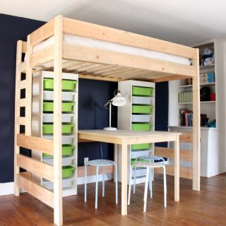 How to build a DIY loft bed
