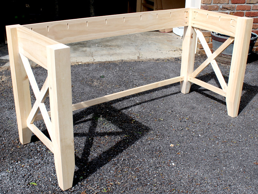 Diy Wooden Desk ~ Diy writing desk