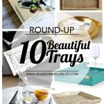 A round-up of 10 beautiful trays