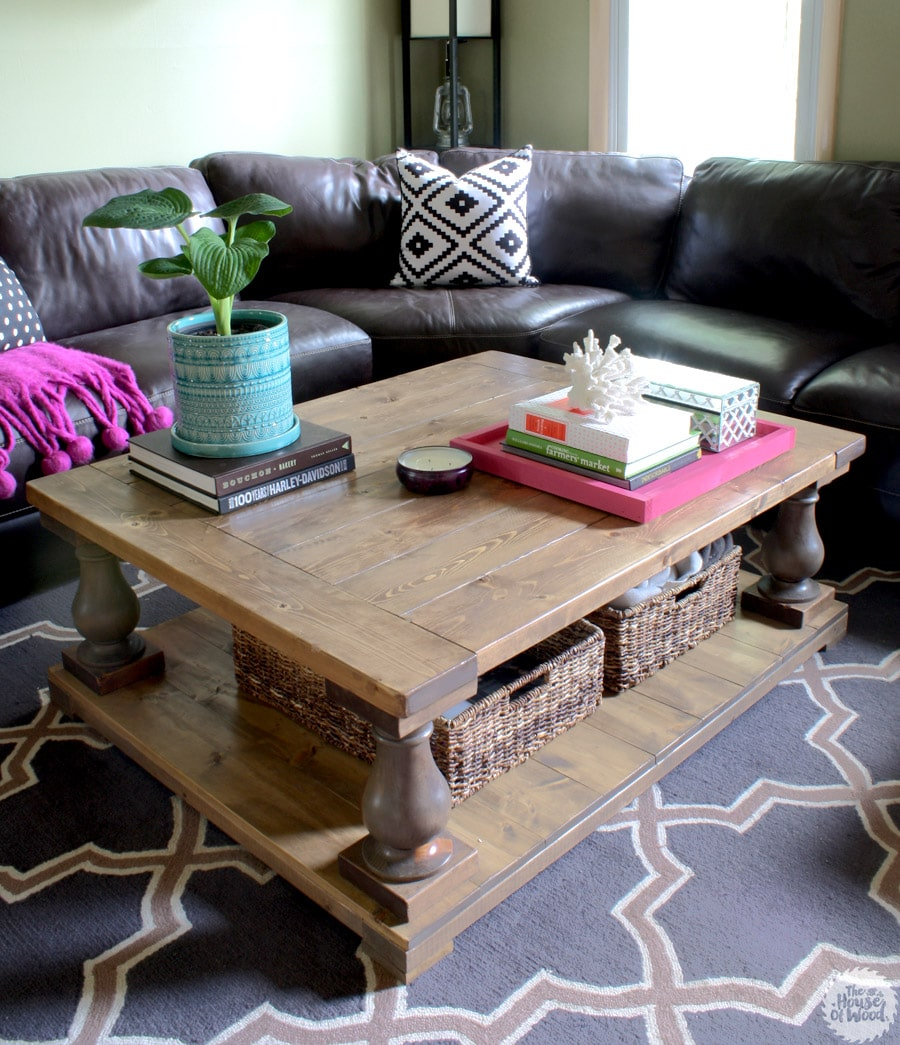 {Guest Post} Coffee Table Organization