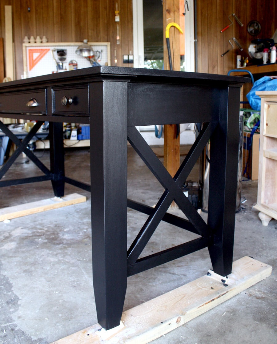 How to build a DIY writing desk.