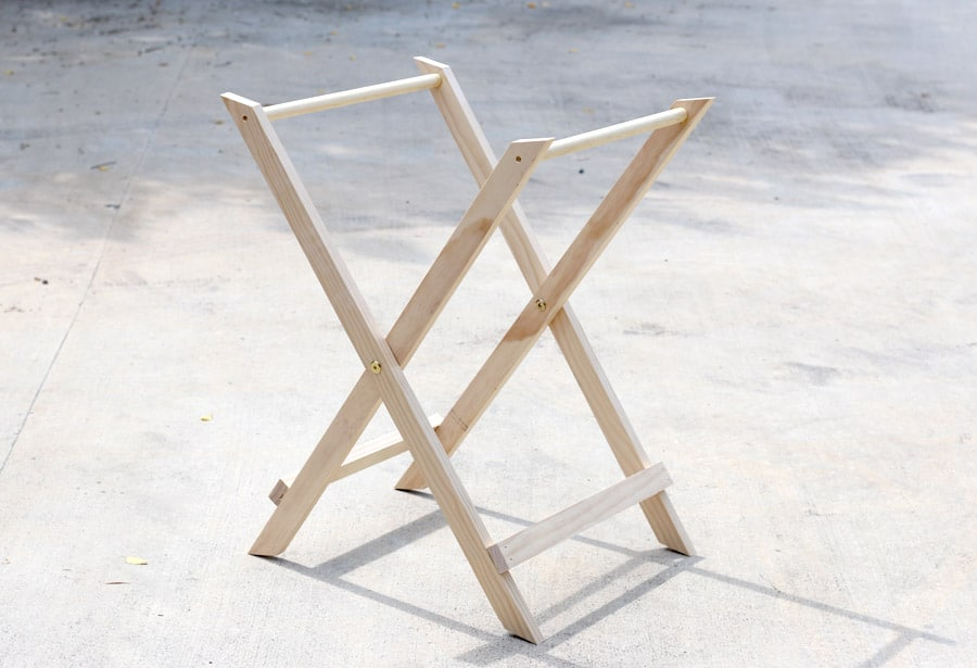 How to build a West Elm-inspired DIY Jardine Butler Stand