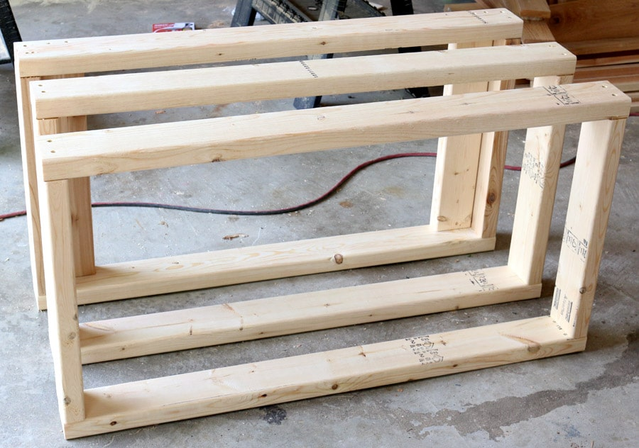 How to build a rolling grill cart - free plans and tutorial!