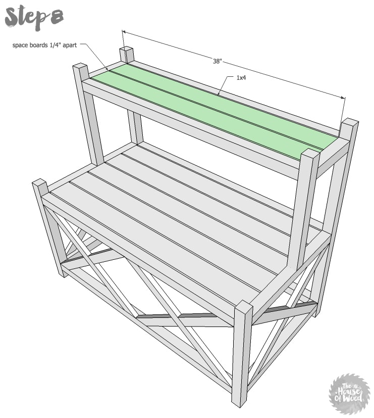How to build a diy plant stand How to build a tiered plant stand