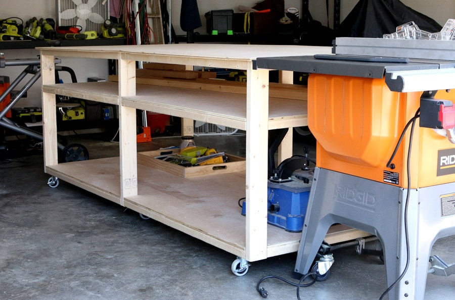 How to build a DIY workbench