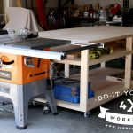 DIY 4×8 Workbench and Outfeed Table