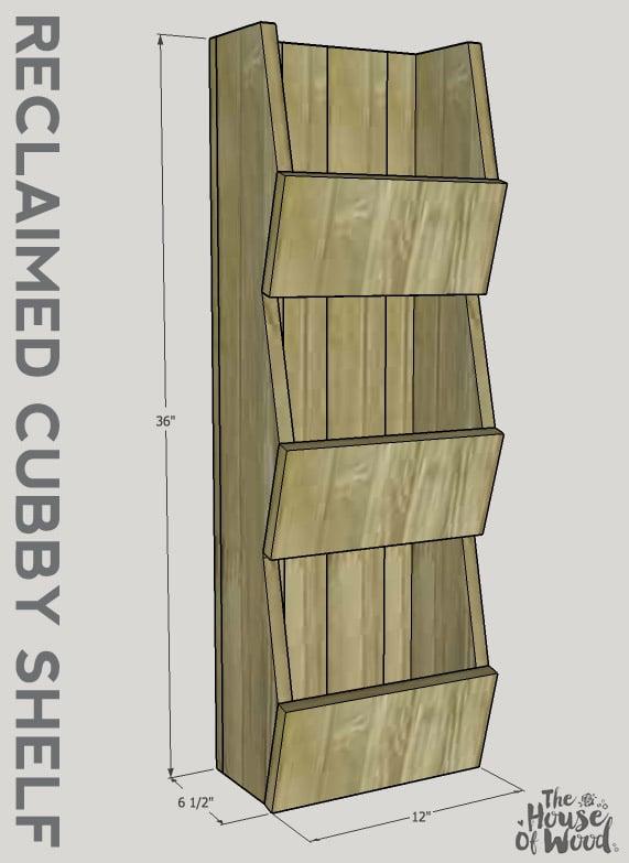 How to build a West Elm cubby shelf