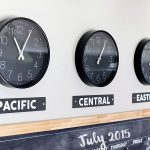 DIY Time Zone Clocks