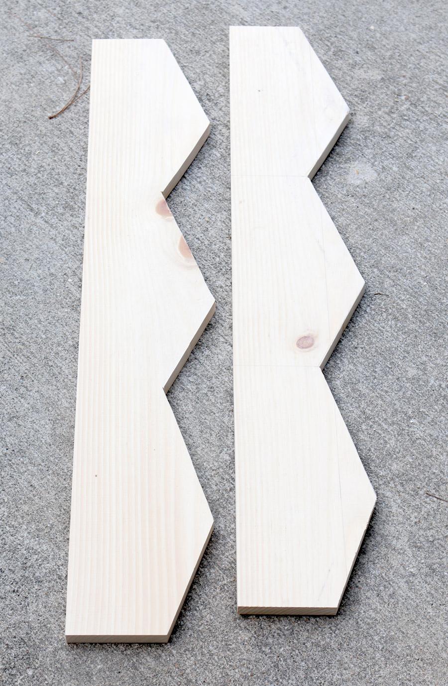 How to build a West Elm shelf