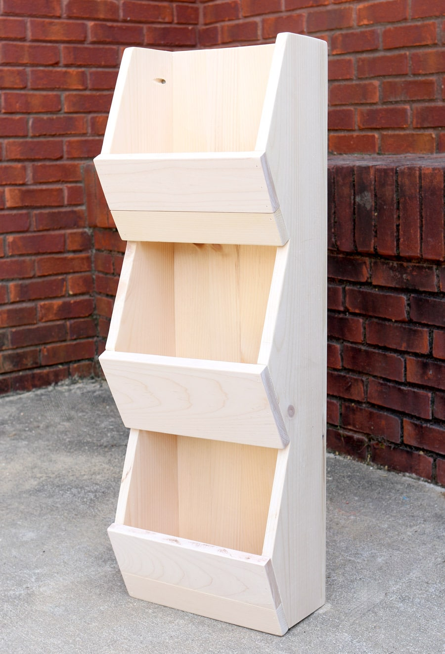 How to build a DIY West Elm Cubby Shelf