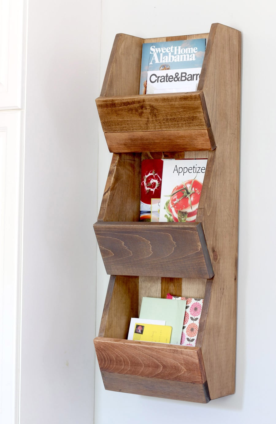 Build this DIY West Elm-inspired cubby shelf out of scrap wood!