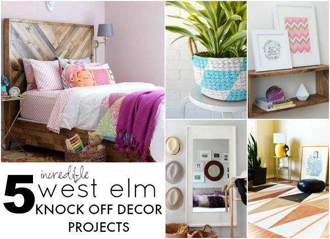 5 Incredible West Elm Knockoffs!
