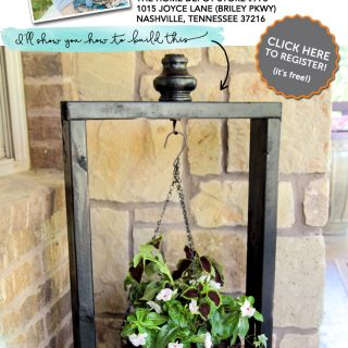 The Home Depot DIY Workshop: Hanging Planter