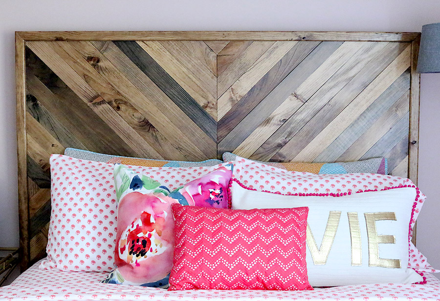 How to build a DIY West Elm-Inspired Alexa Reclaimed Wood Bed