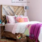 West Elm Knockoff Decor Series: Chevron Reclaimed Wood Bed