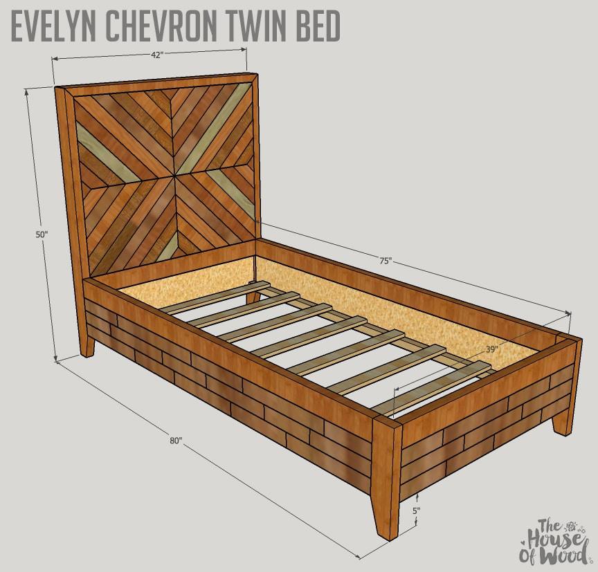 how to build a west elm knockoff bed. Black Bedroom Furniture Sets. Home Design Ideas