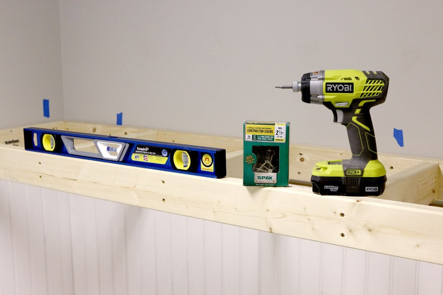 Great tutorial on how to DIY floating shelves - looks built-in and super sturdy!