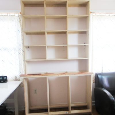 How To Build A Built-In Bookcase: Part Two