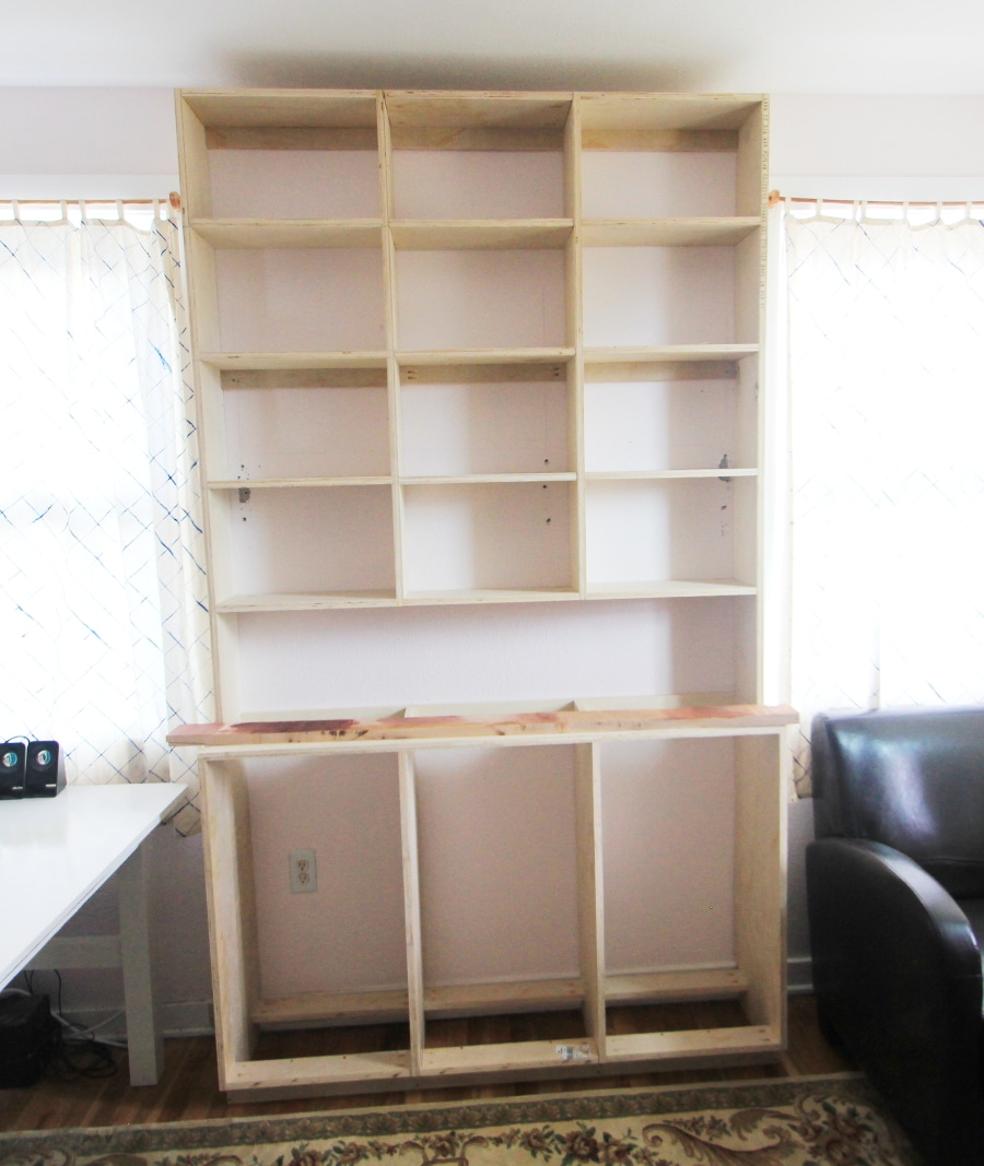 how to build a built in bookshelf. Black Bedroom Furniture Sets. Home Design Ideas