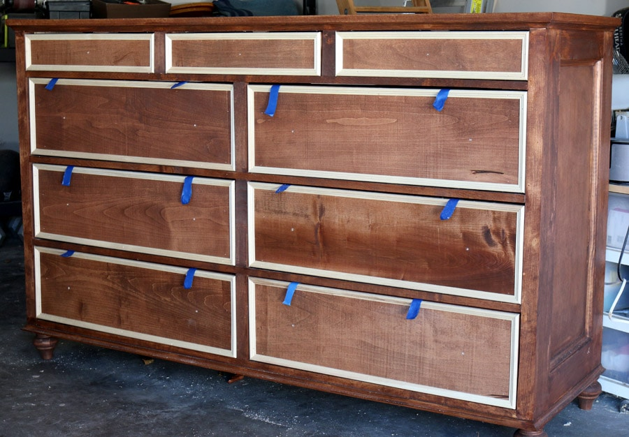 How to build a dresser