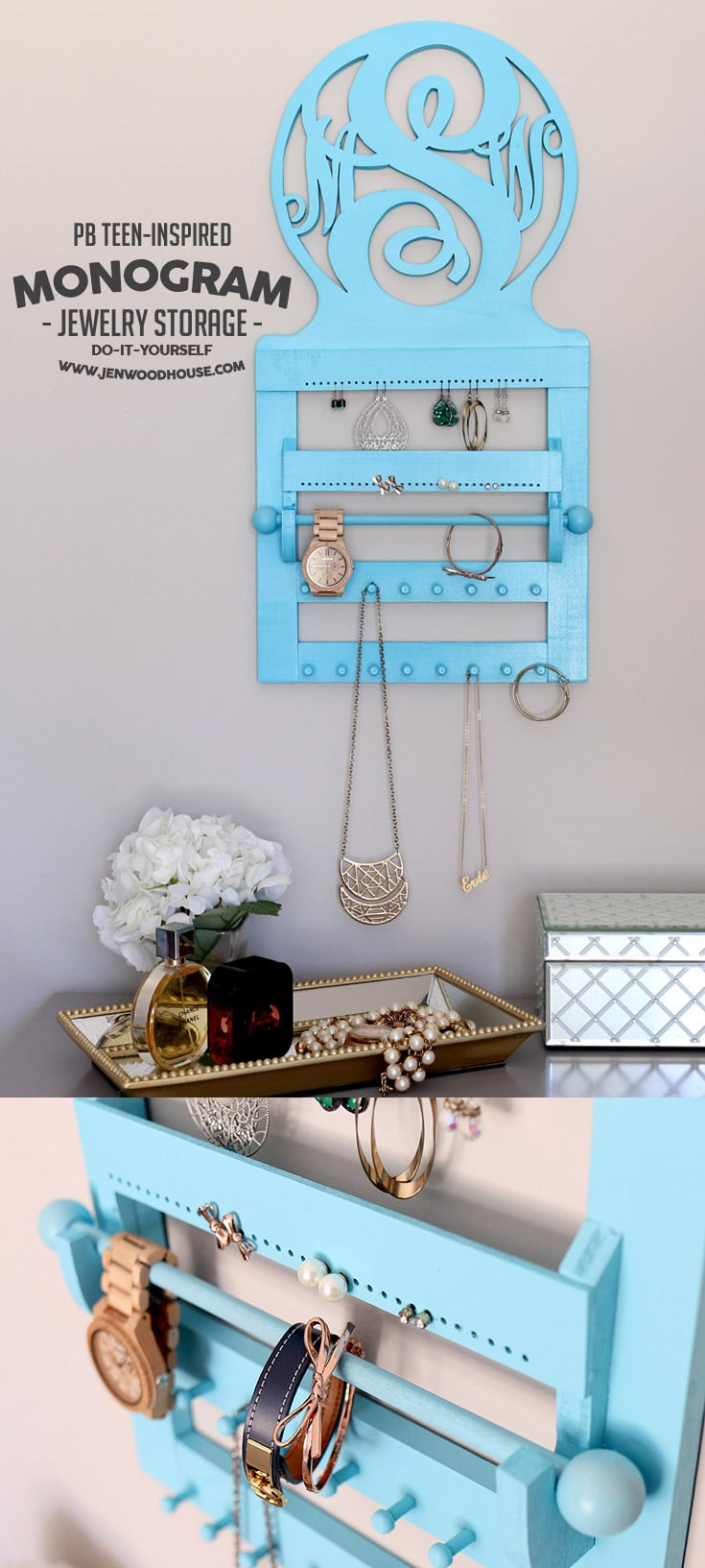 PB Teen Inspired Jewelry Organizer