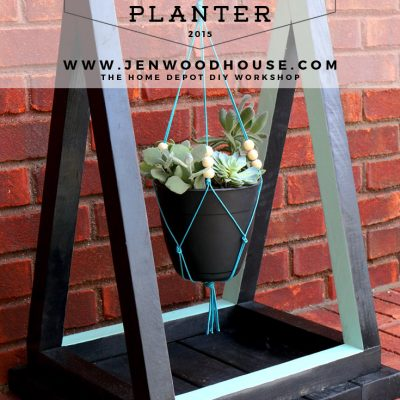 Triangle Hanging Planter