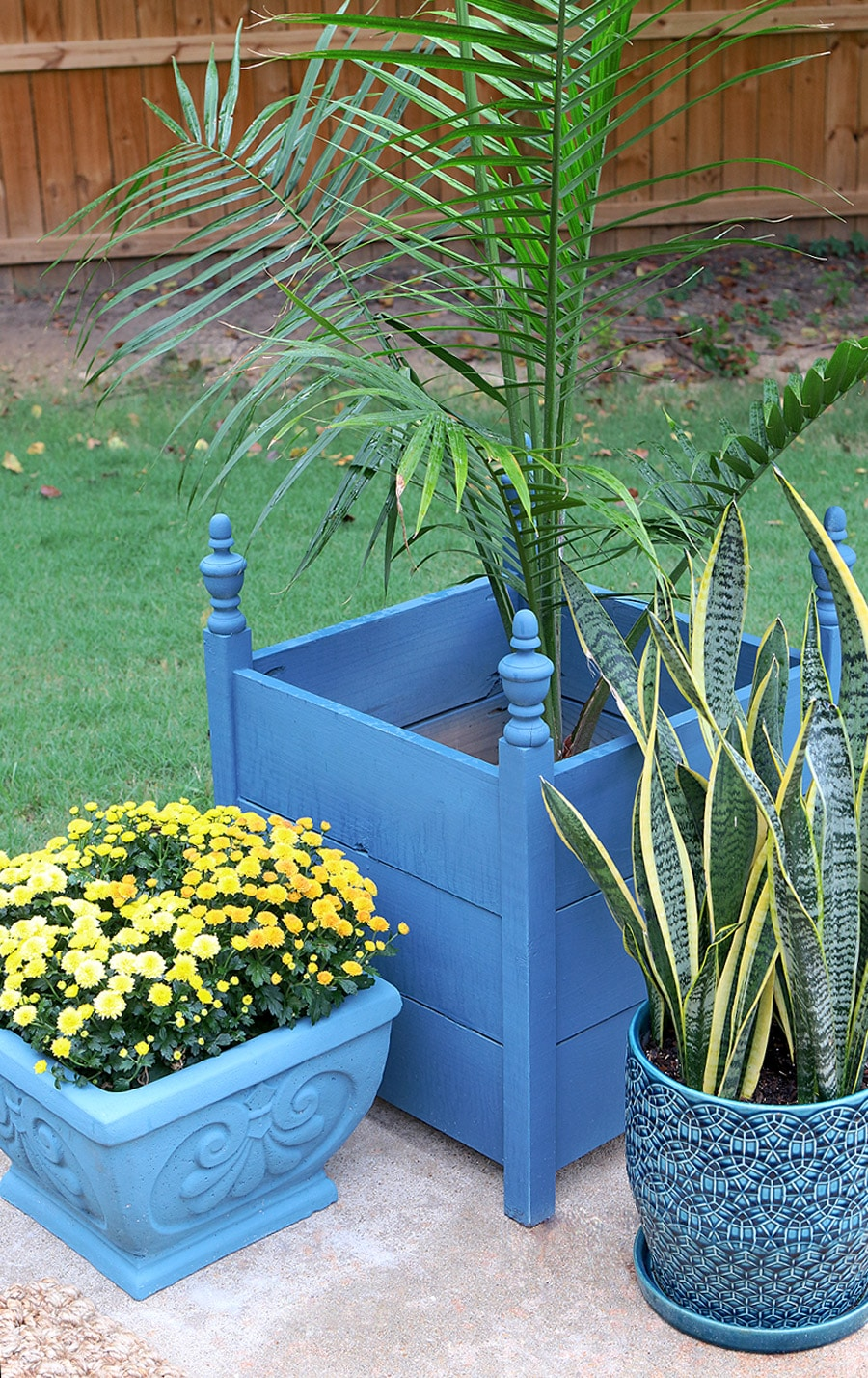 planter painted an artsy diy appetite blocking summer color planters nef dsc