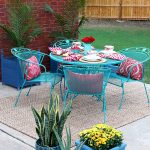Chalk Paint Patio Furniture Makeover