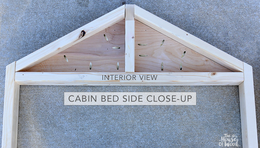 Restoration Hardware-inspired DIY cabin bed