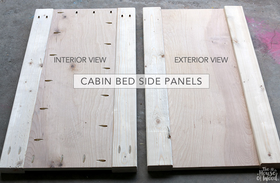 DIY RH Baby & Child cabin bed