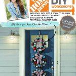 Home Depot DIY Workshop: Holiday Wreath Trio