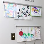 How To Display Kids' Artwork