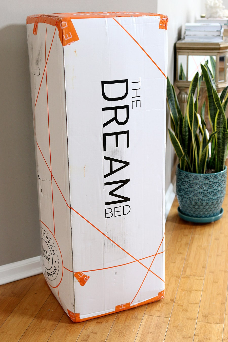 The Dream Bed - a bed in a box