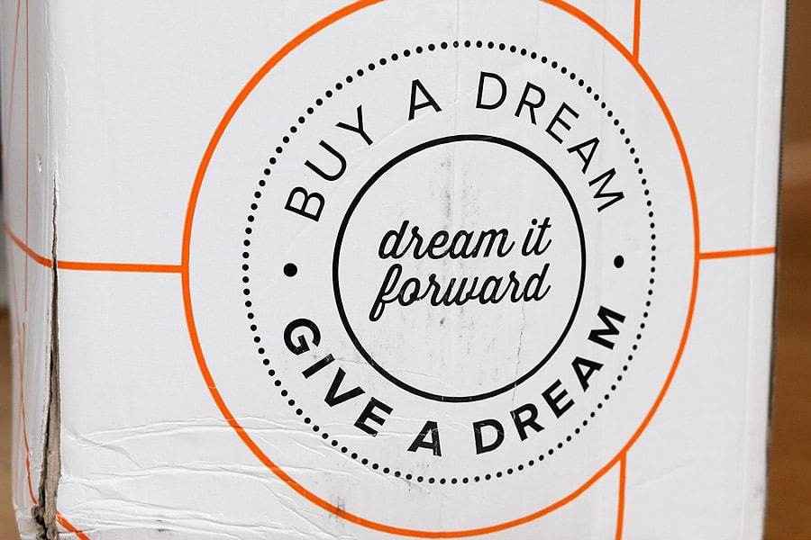 The Dream Bed - dream it forward. Buy a dream, give a dream