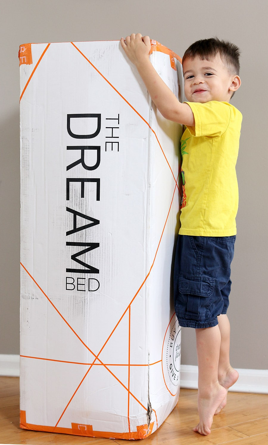 The Dream Bed bed in a box