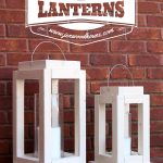 Scrap Wood Challenge: DIY Rustic Lanterns