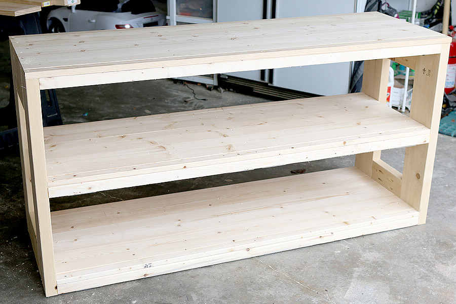 How to build a Restoration Hardware-inspired console using Simpson Strong-Tie connectors