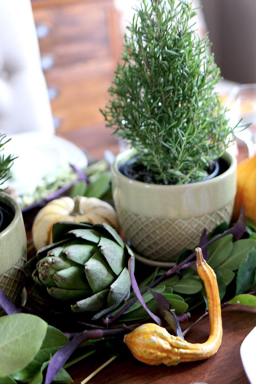 Fall table setting via Jen Woodhouse