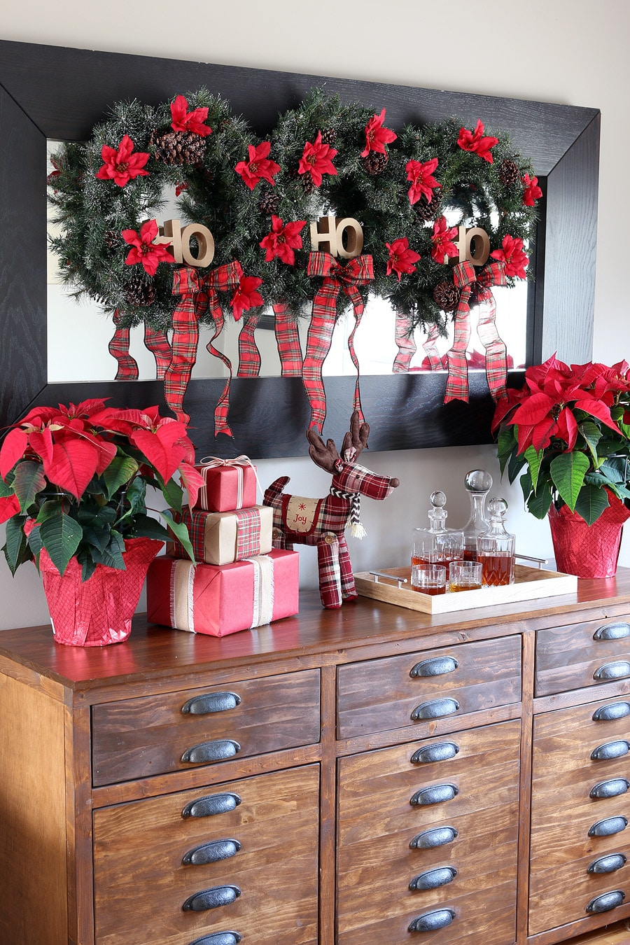 Join us for the DIY Workshop at The Home Depot and make this holiday wreath trio!