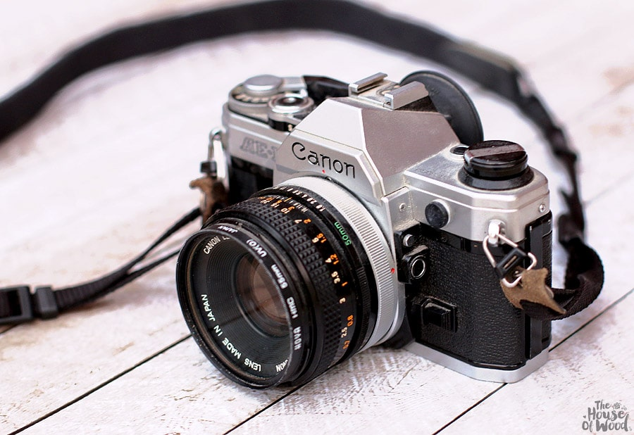 Canon AE-1 - my first camera