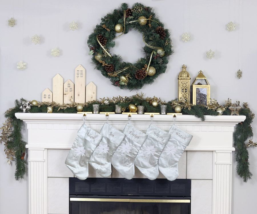 2015 Christmas Mantel The House Of Wood