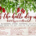Deck the Halls DIY Style: 2015 Christmas Mantel with DIY Scrap Wood Village