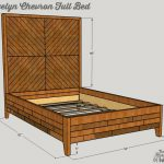 Free Plans: Evelyn Chevron Full Bed