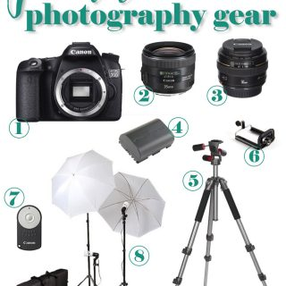 Photography must-haves for bloggers