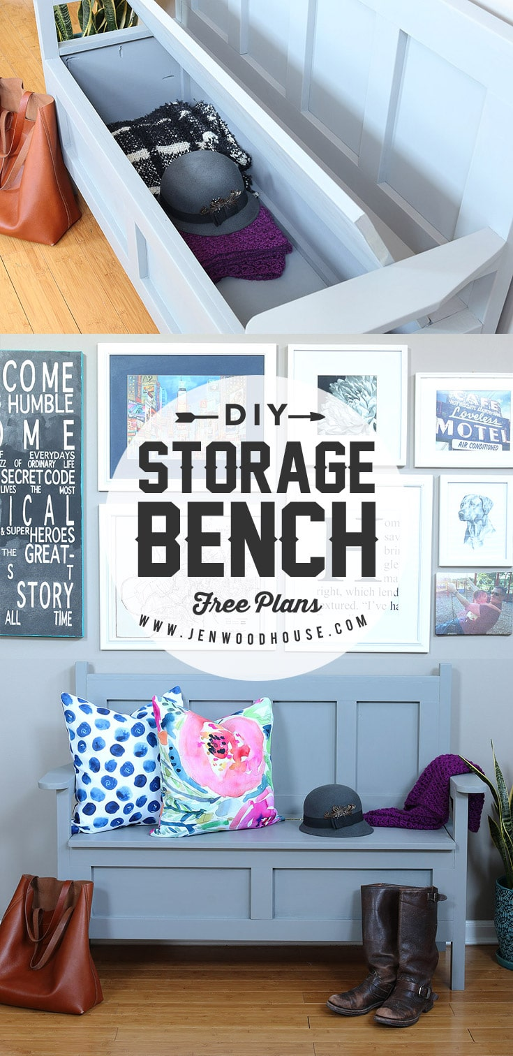 Diy Storage Bench The House Of Wood