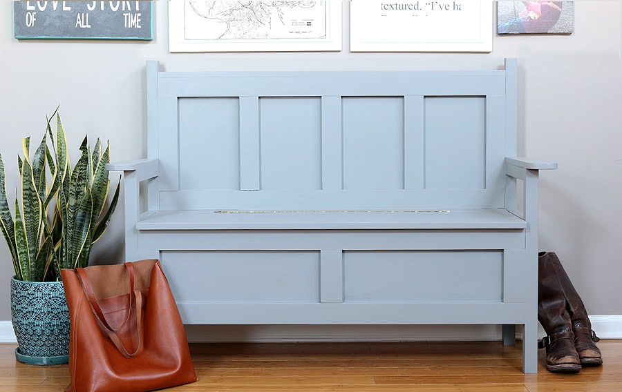 Enjoyable Diy Storage Bench The House Of Wood Ibusinesslaw Wood Chair Design Ideas Ibusinesslaworg