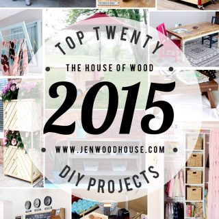 Top 20 DIY Projects of 2015 via Jen Woodhouse